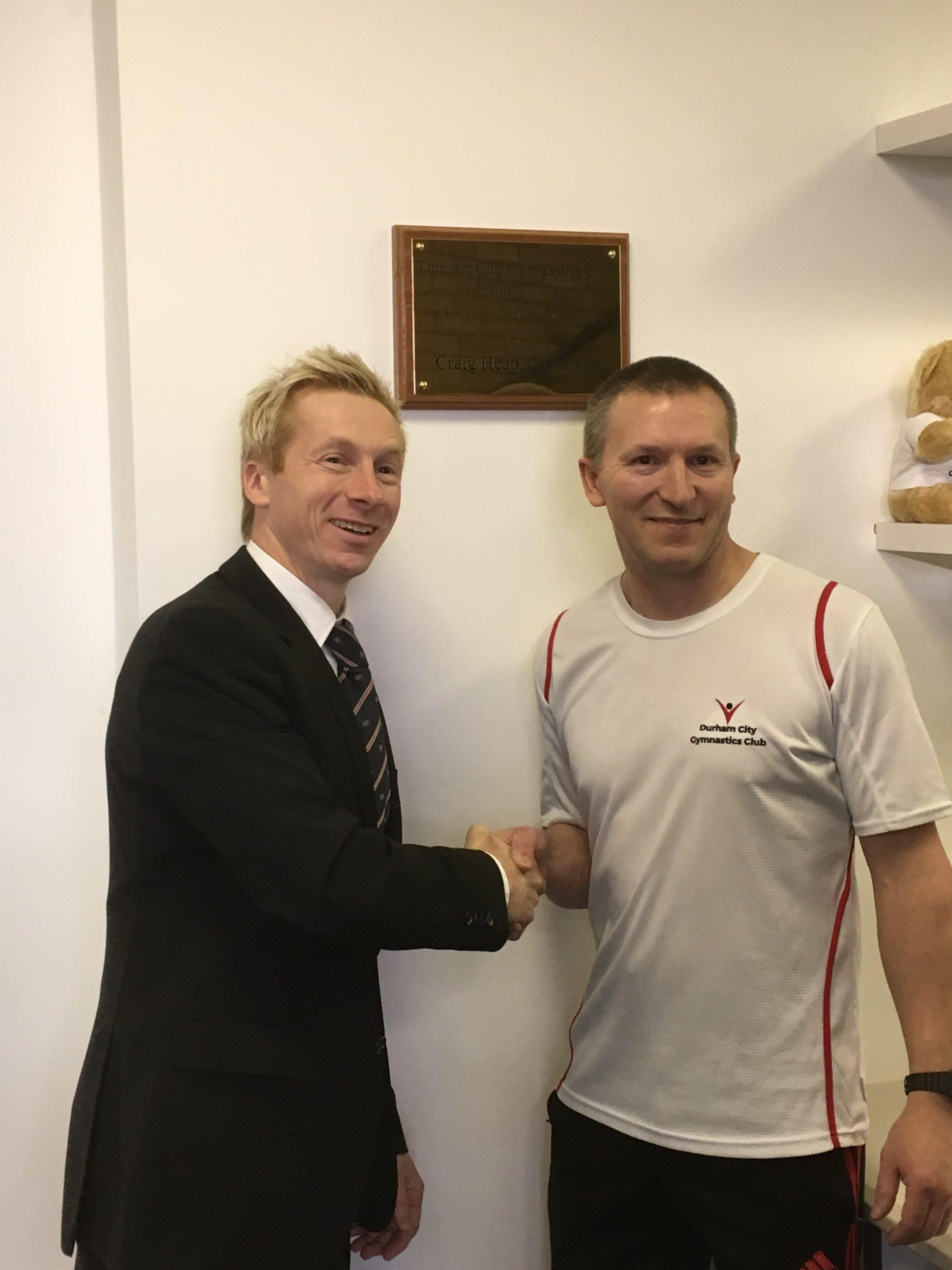 Craig Heap with Glen Wharton